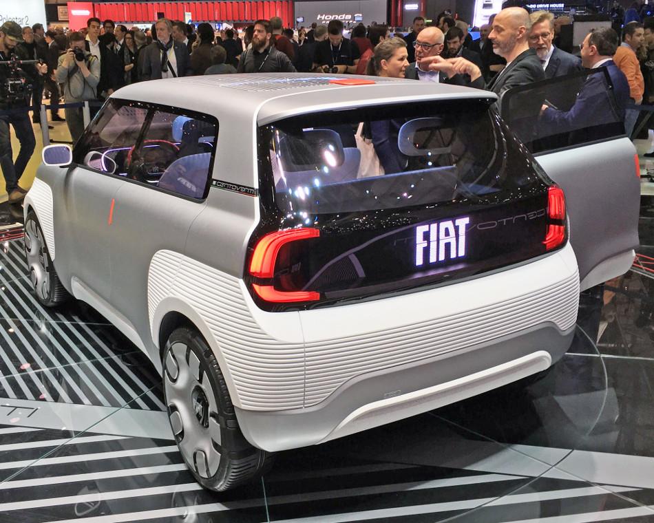 Fiat Concept Centoventi, un auto 100% eléctrico