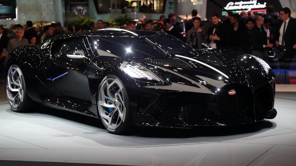 Bugatti presentó La Voiture Noire