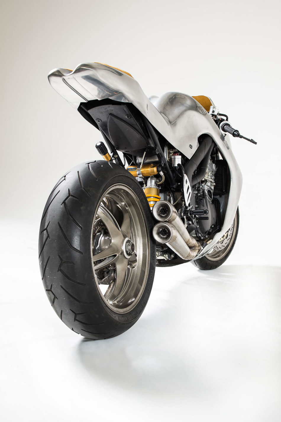 La Triumph Speed Triple MBG_001 de Metalbike Garage