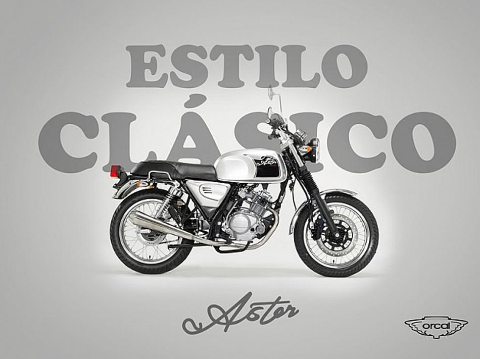 Nuevas motos de Orcal Motor