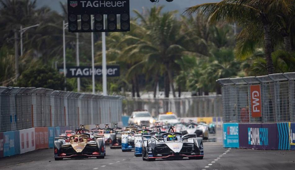 Fórmula E, Eprix de Sanya, la carrera