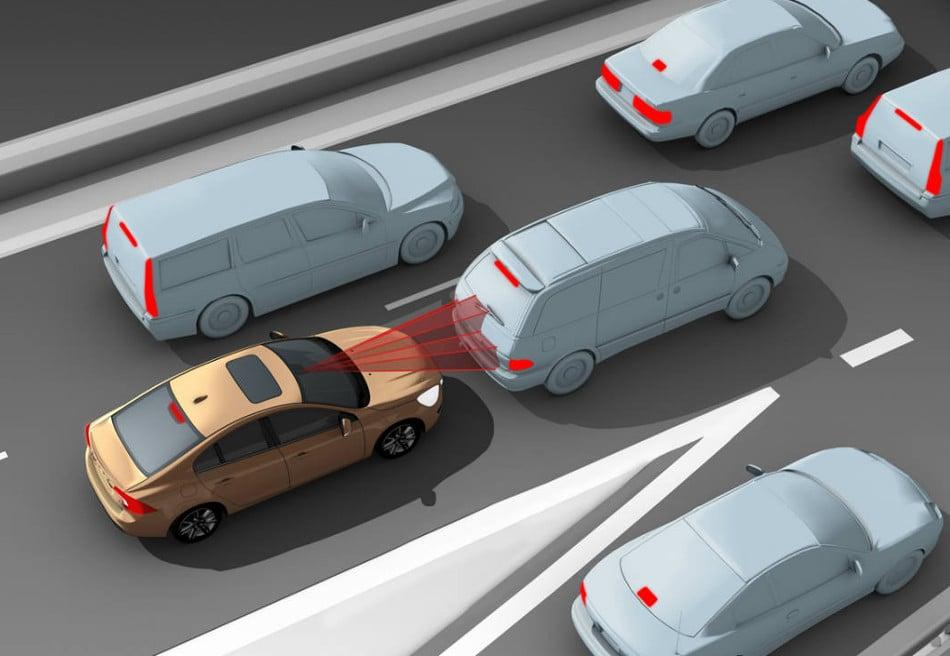 Los sistemas de seguridad en los coches