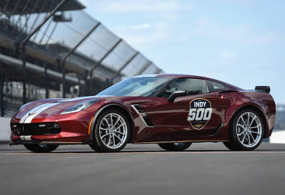 El Corvette Grand Sport 2019 de las Indy 500