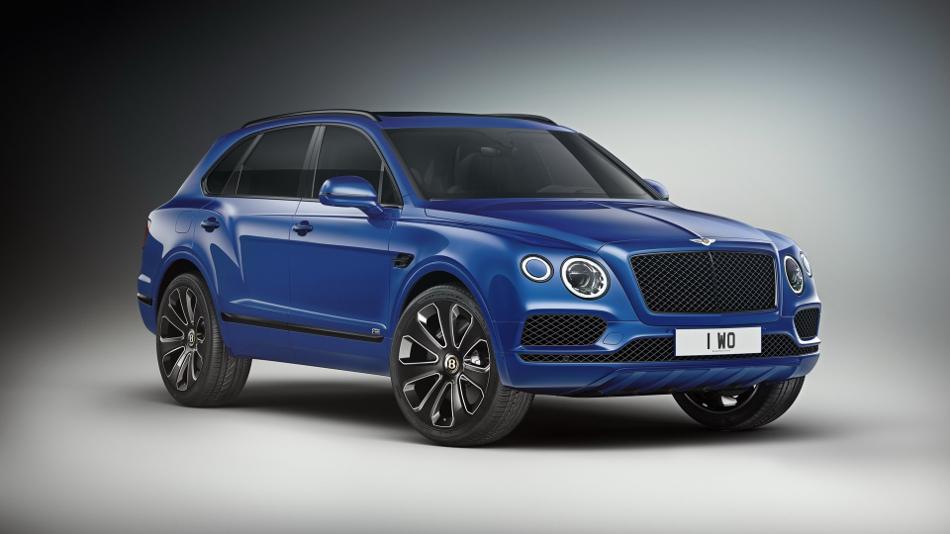Nueva edición 'Design Series' para el Bentley Bentayga V8