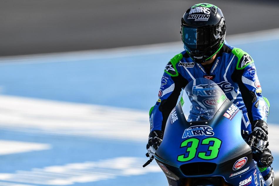 """Enea Bastianini: """"Inmediatamente me sentí bien sobre la Moto2"""""""
