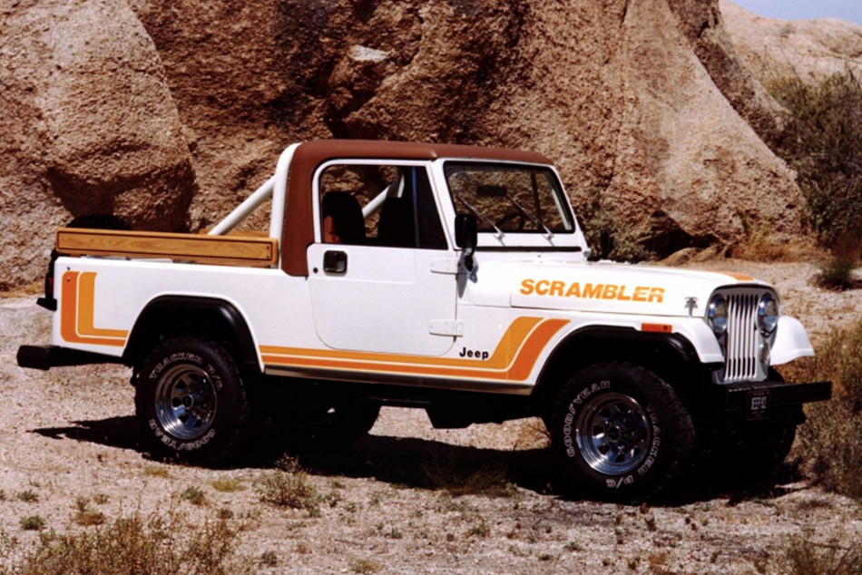 Jeep presentó JT Scrambler