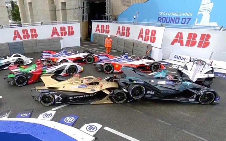 Incidencias del Eprix de Roma de la Fórmula E