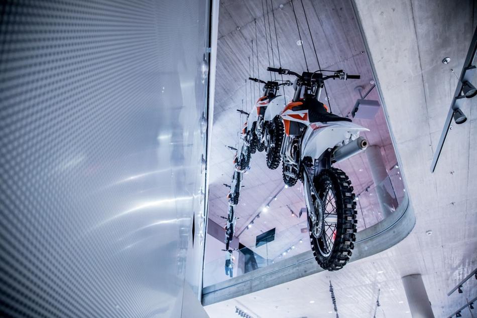 Conoce el museo KTM Motohall