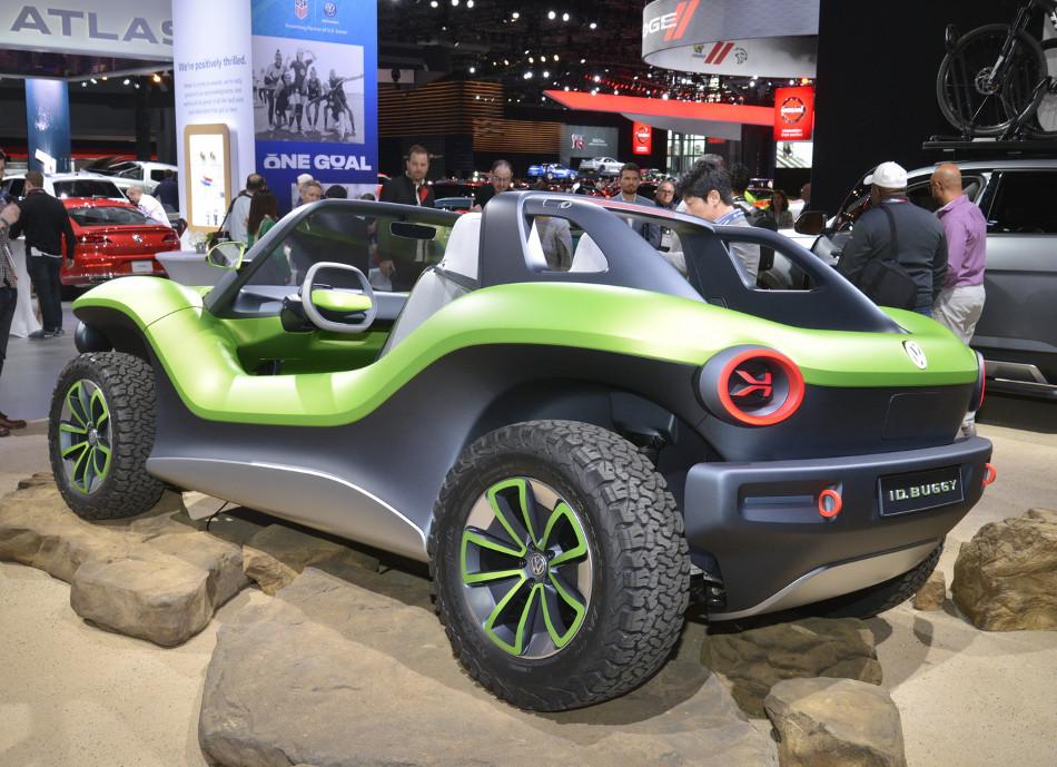 Volkswagen presentó el novedoso ID Buggy Concept