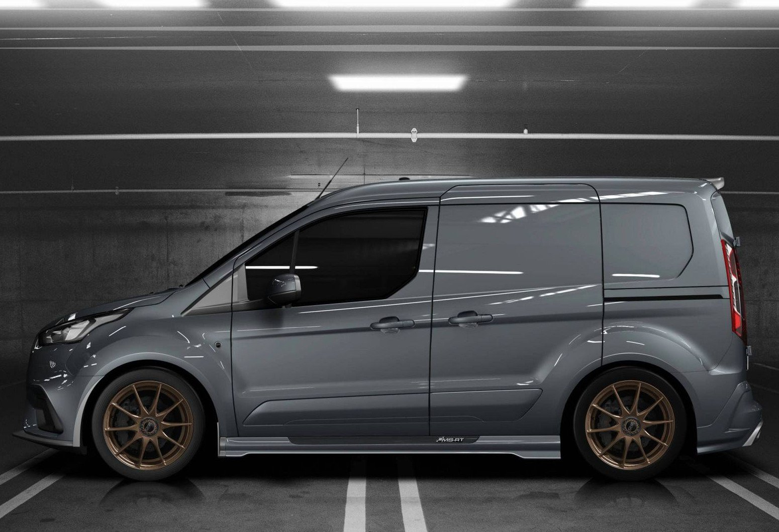 Conozca la furgoneta Ford Transit Connect by MS-RT