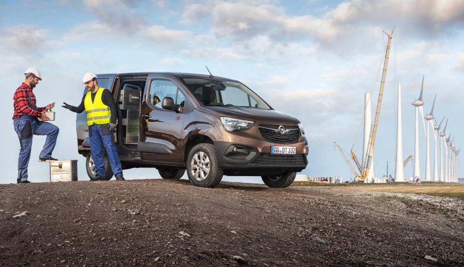 Opel Combo Cargo con tracción 4x4