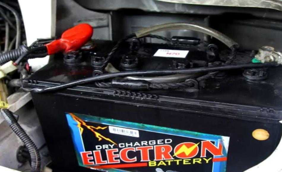 Arrancar con la batería descargada