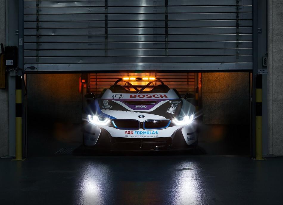 BMW i8 Roadster nuevo coche de seguridad de la Fórmula E