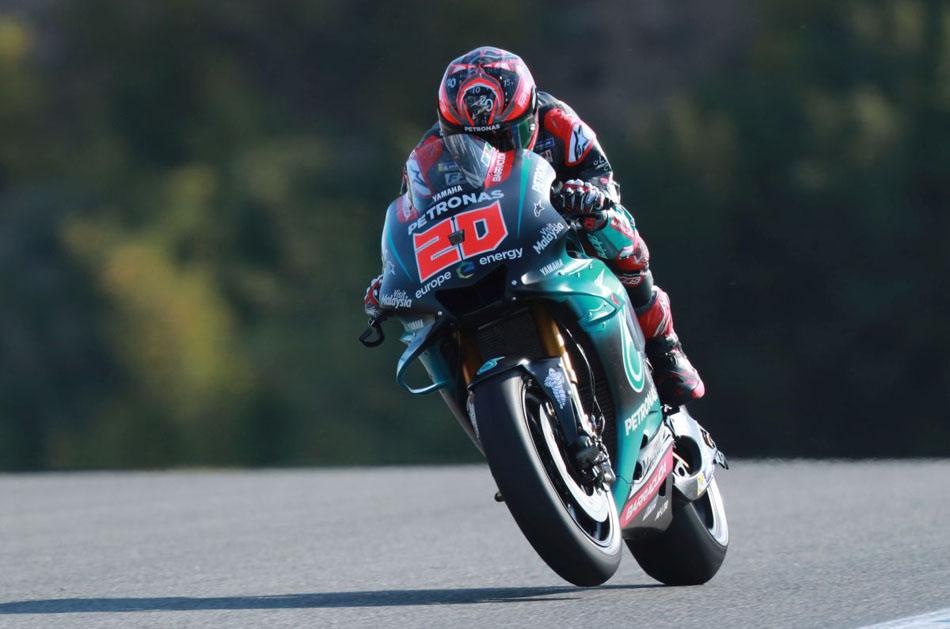 Maverick Viñales lidera en Le Mans
