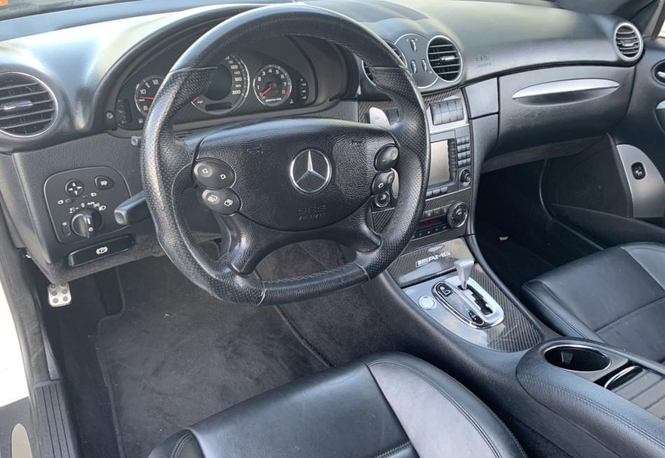 Mercedes-Benz CLK 63 AMG Black