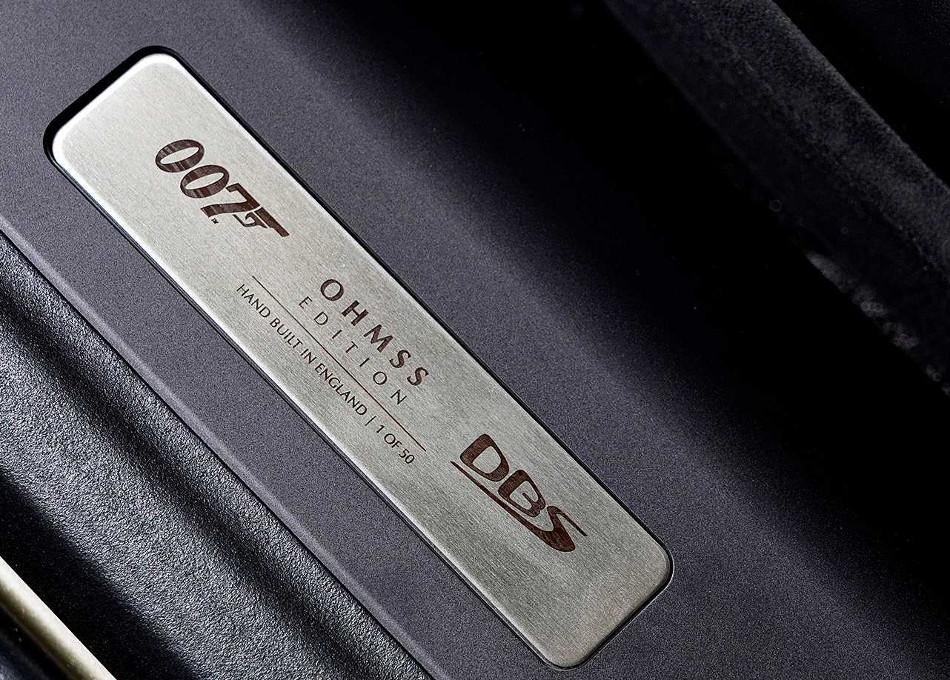Aston Martin DBS Superleggera edición 007