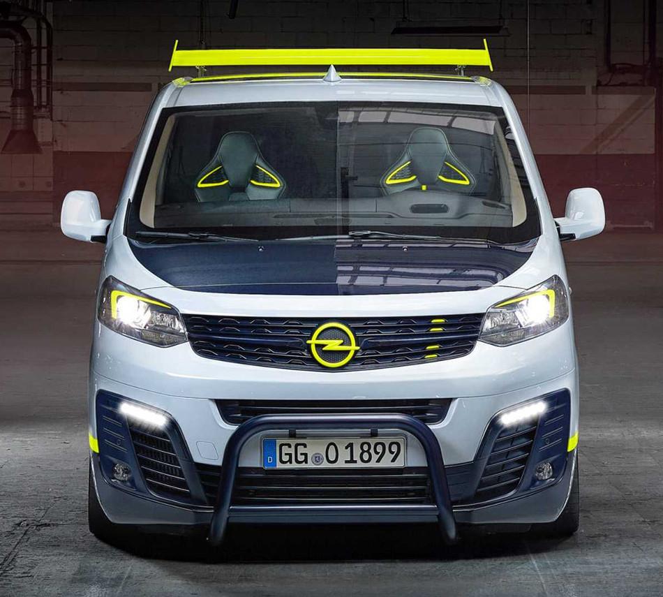 Conoce la modificada Opel O-Team Zafira Life