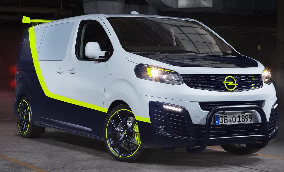 Opel presenta el O-Team Zafira Life