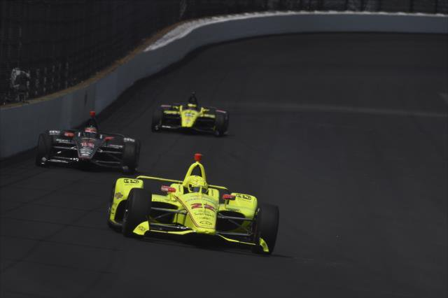 El francés Simon Pagenaud ganó las 500 Millas de Indianapolis