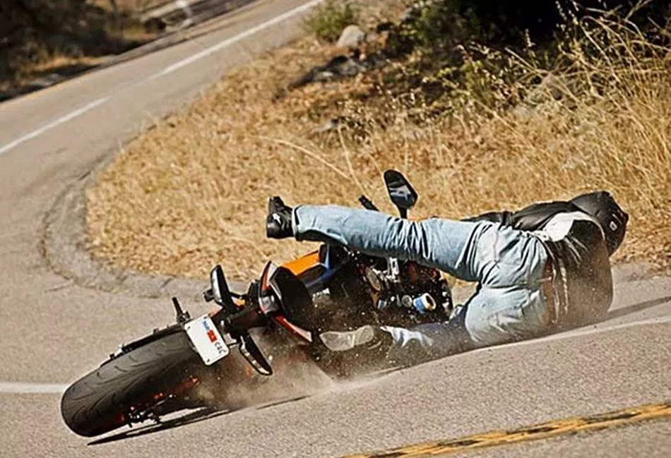 Causas de los accidentes en moto