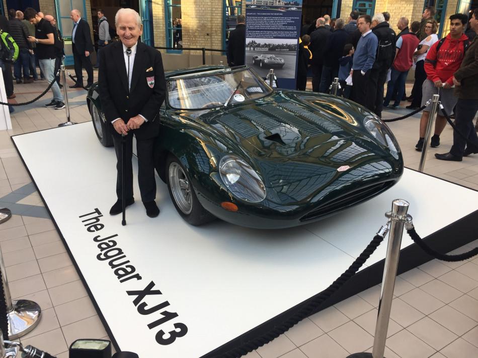 Fallece Norman Dewis, el piloto que contribuyó a que Jaguar existiera
