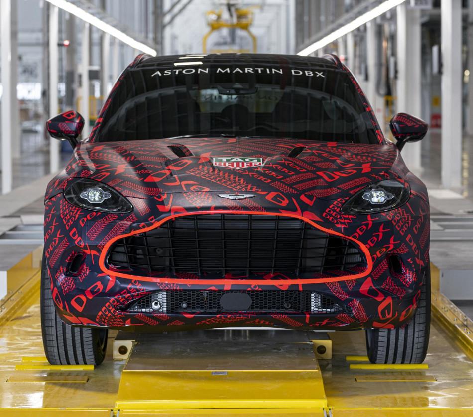 Ya tenemos información del nuevo Aston Martin DBX