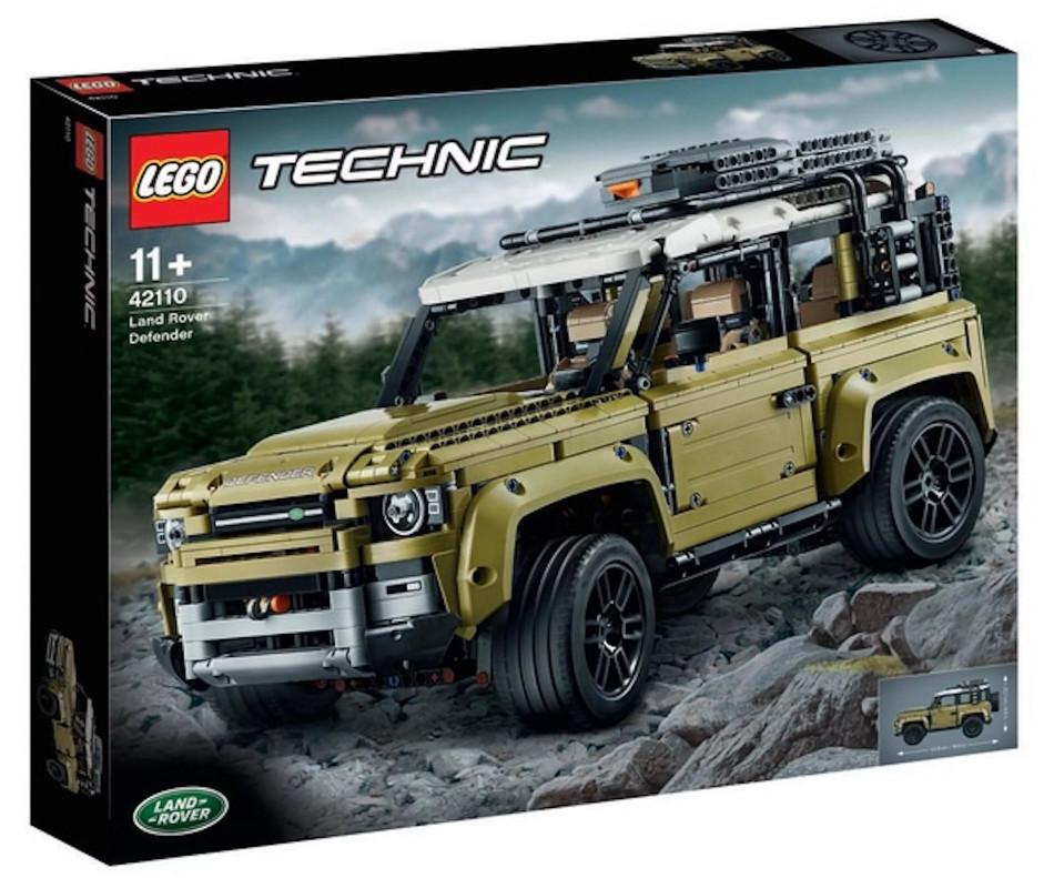LEGO Technic presenta el Land Rover Defender