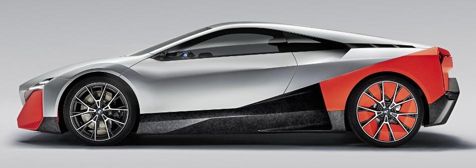 El prototipo BMW Vision M Next híbrido
