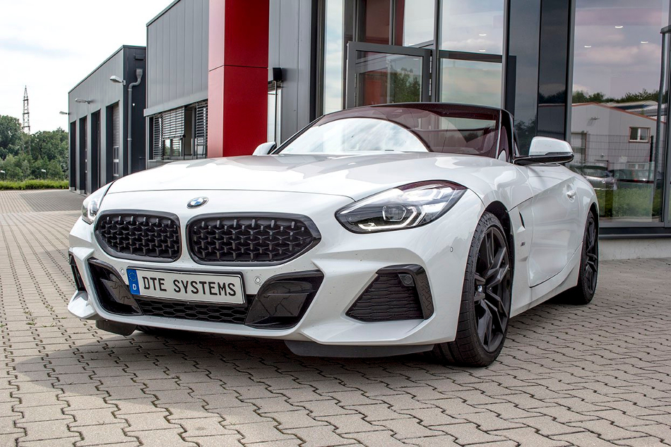 El BMW Z4 sDrive30i adquiere 24 hp con DTE Systems