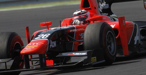 Max Chilton también es el más rápido en la calificación de Monza en GP2