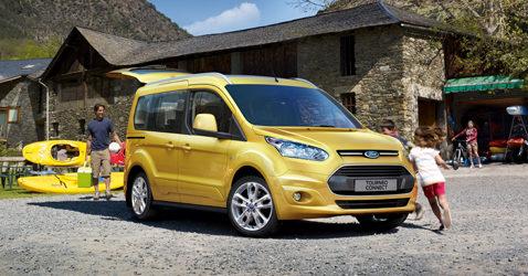 Presentada la nueva gama Ford Transit y Tourneo Connect