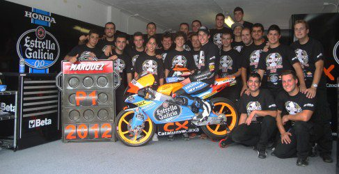 Alex Márquez es el nuevo campeón de Moto3 del CEV
