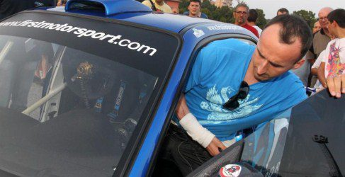 Robert Kubica gana el Rallie Ronde Gomitolo di Lana