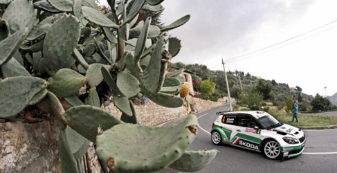 Umberto Scandola domina el Shakedown del Rally San Remo del IRC