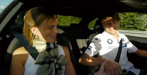 ¿Llevarías a tu pareja de copiloto por Nürburgring Nordschleife?