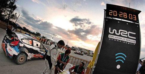 La empresa española SIT encargada del cronometraje del WRC