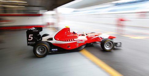 David Fumanelli marca un nuevo récord en la pista de Estoril en el último test de GP3 del año