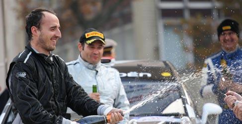 Robert Kubica gana el Rally di Como con el Citroën C4 WRC