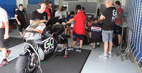 gresini suspensiones showa