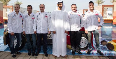 Citroën Racing muestra en Abu Dabi su proyecto del WRC 2013