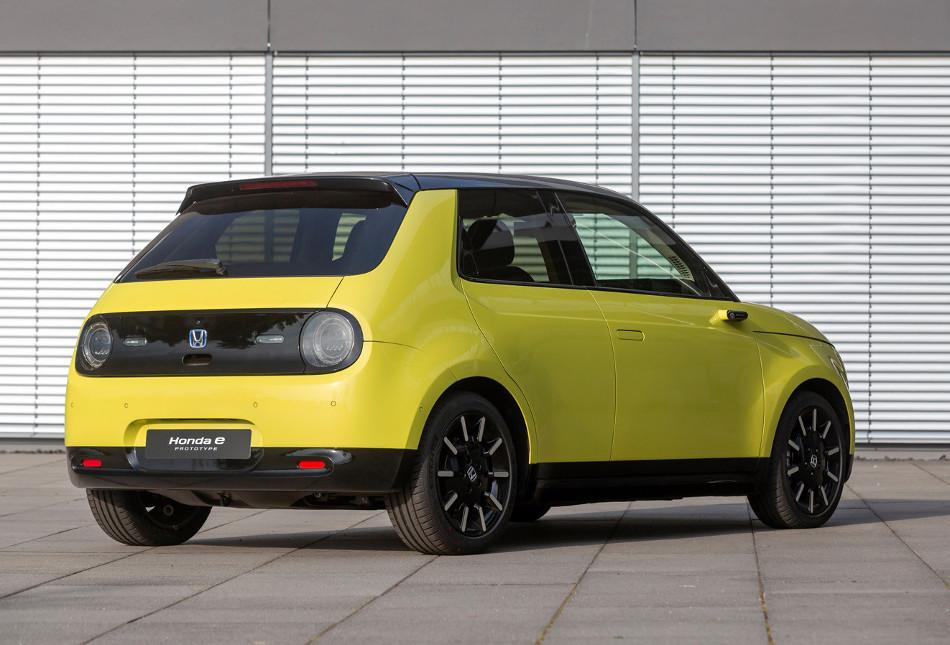 Honda e, un japonés 100% eléctrico