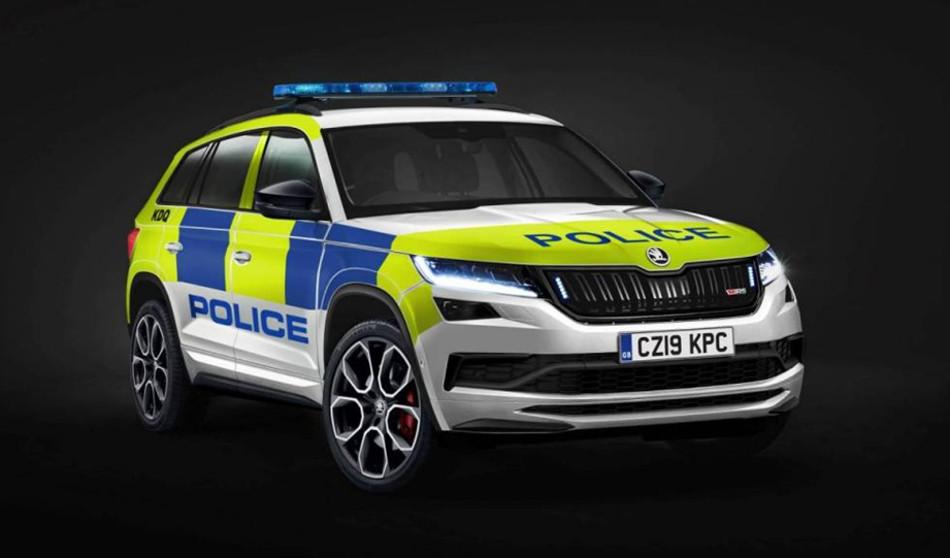 Skoda Kodiaq RS se une a la policía británica
