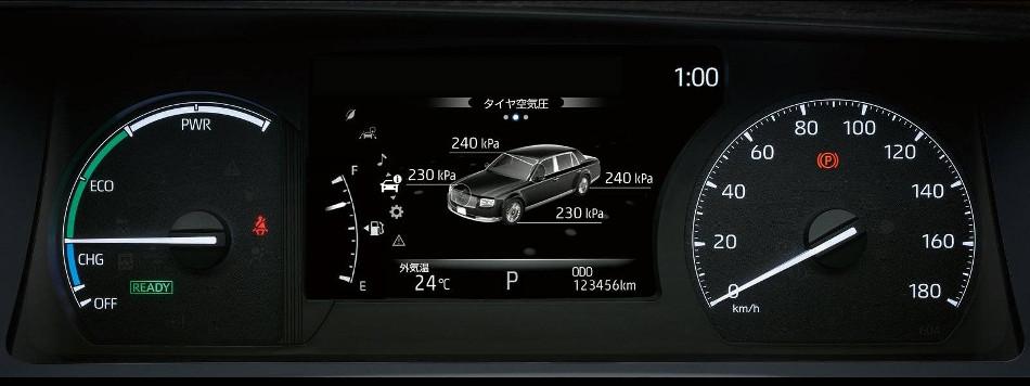 Segunda parte de la historia del Toyota Century