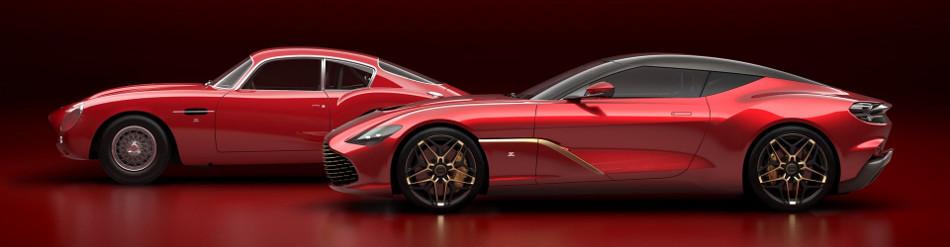 Este es el exclusivo Aston Martin DBS GT Zagato, una verdadera belleza