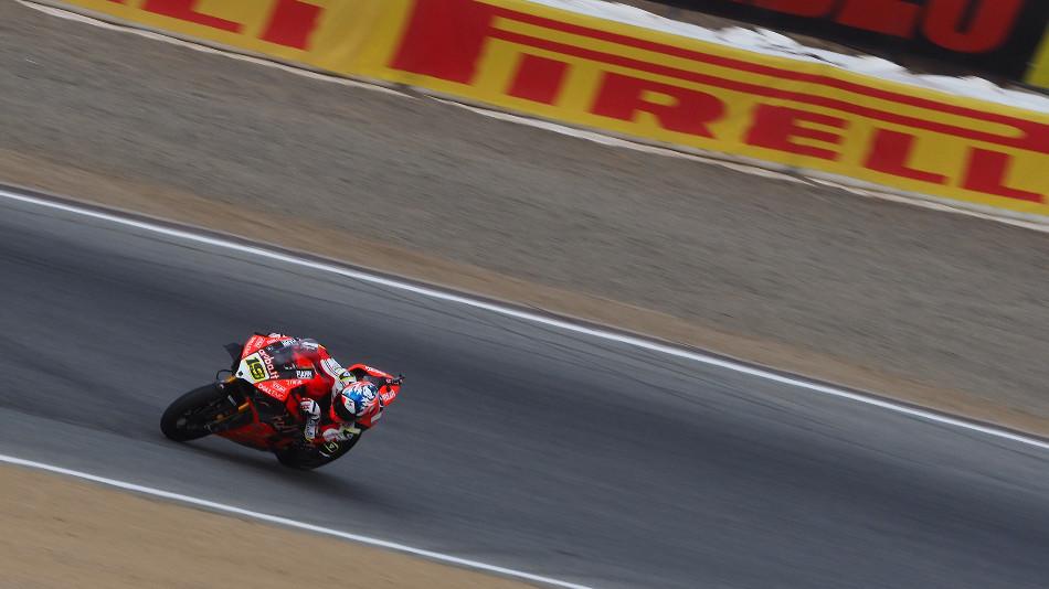 Jonathan Rea consigue su cuarta pole del año en Laguna Seca