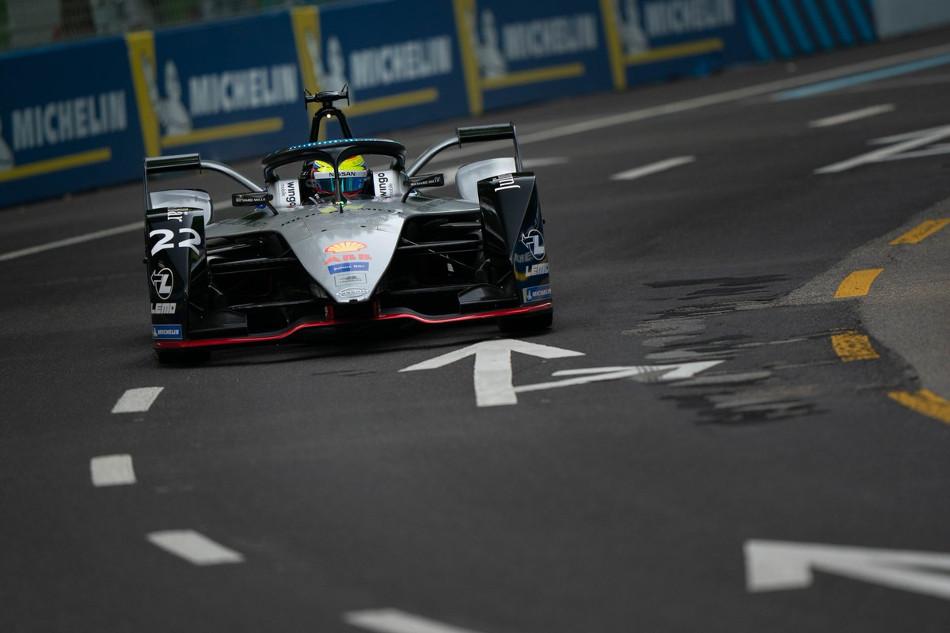 Incidencias del Eprix de Nueva York de la Fórmula E, segunda carrera