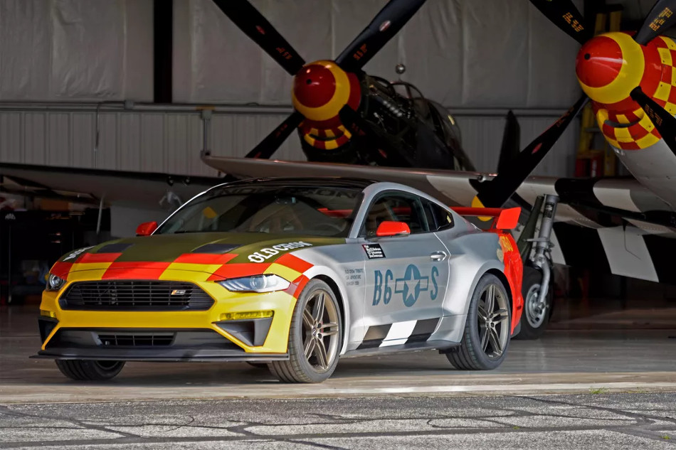 Mustang GT Old Crow 2019