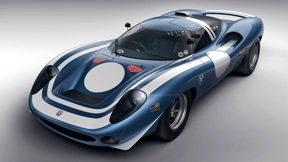 Ecurie Ecosse revive nuevamente al Jaguar XJ13 de 1966