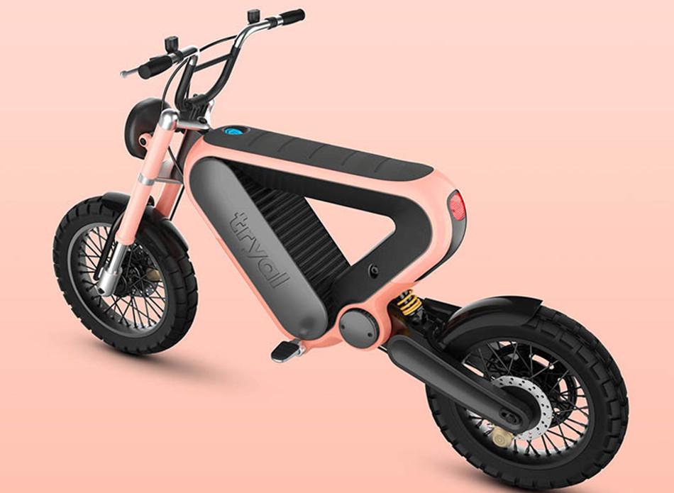 Tryal, la motocicleta eléctrica ganadora del Rizoma Design Challenge