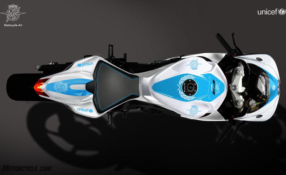 MV Agusta F3 800 UNICEF